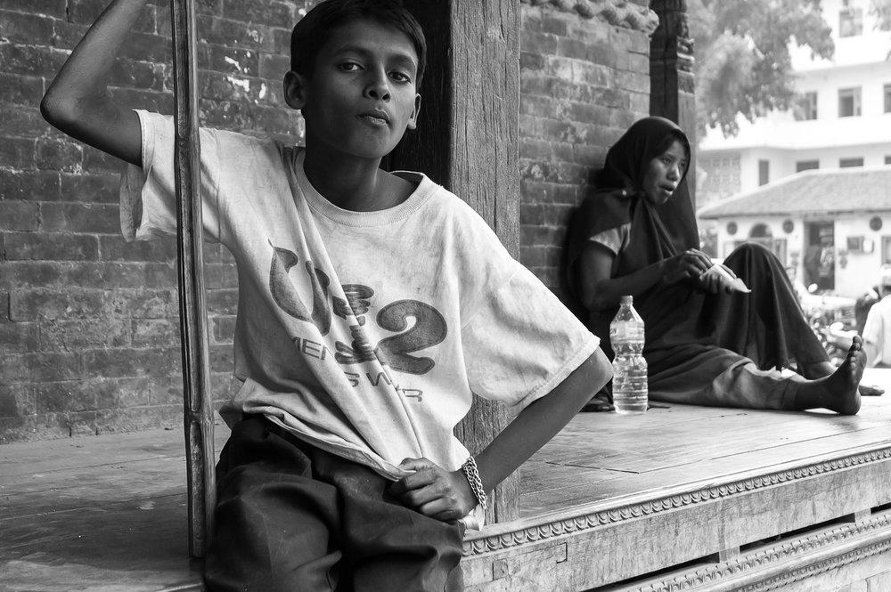 Nepal Boy // Luigi Luccarelli