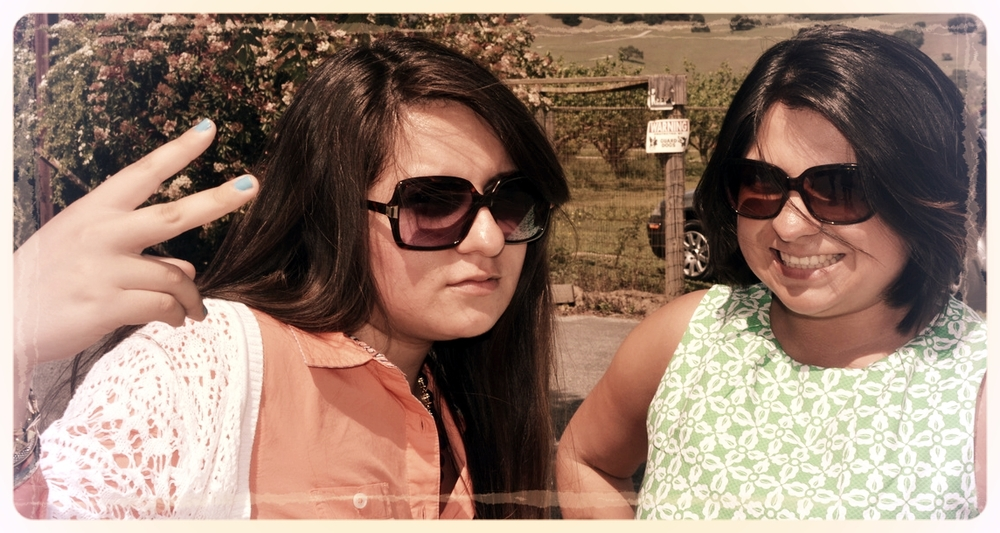 Us being silly on Easter! © 2015 Nicole Moreno-Deinzer