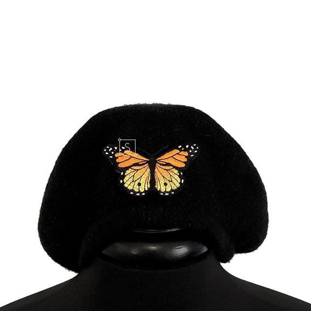 Baby Boo, We got Butterfly Berets Too!  A whole bunch of new accessories are available! Cop em all and make  your outfit a statement. All at AFFORDABLE prices. ✧Stinnys.com✧