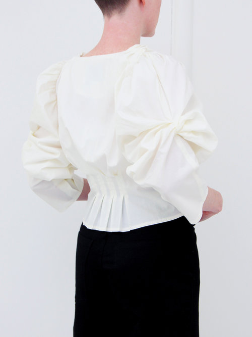 2b26cd36b3a73 ... Full Moon Crop Top - Serif Black · House of Sunny Lover Knot Blouse -  Mineral
