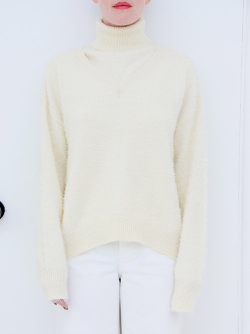 6171b2674d7e2 House of Sunny Two-in-One Concept Jumper - Stone