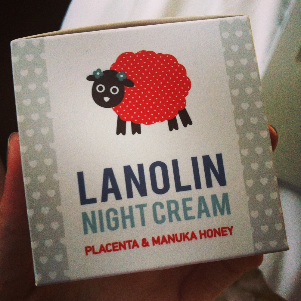 """Lanolin? Like sheep's wool?""  - Ron Burgundy"