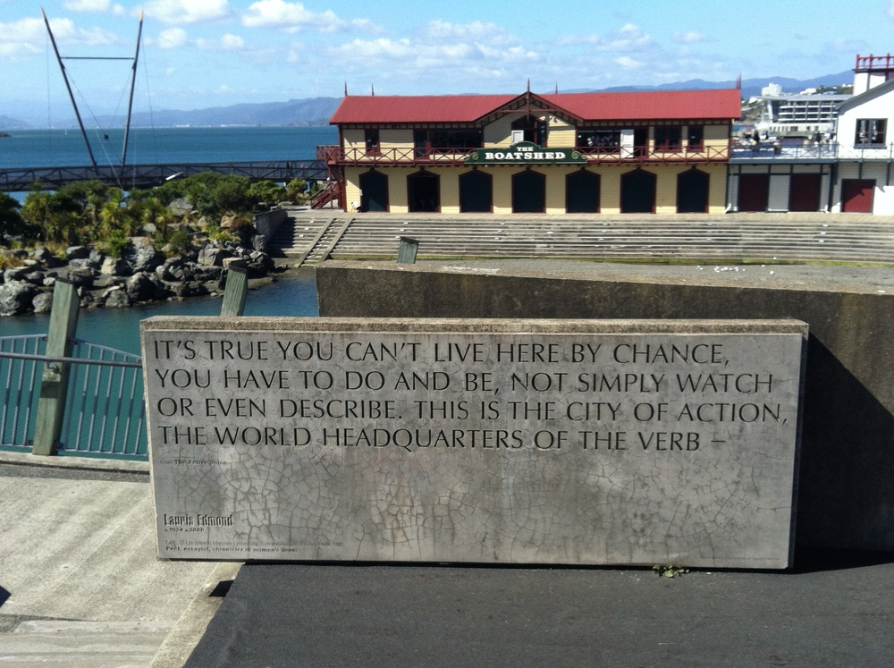 "So true. I can't describe exactly how I felt in Wellington, but I guess the best way to sum it up is ""alive!"""