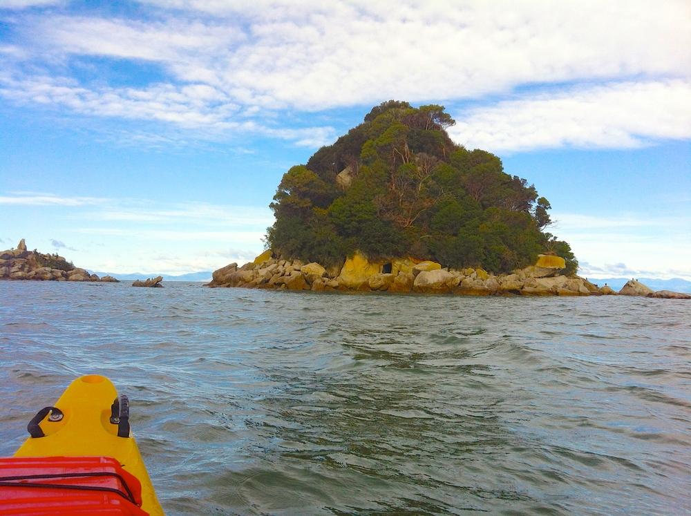 Headed to Pinnacle Island