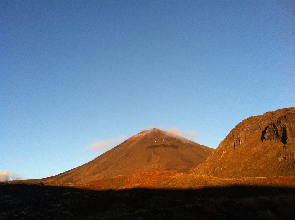 Golden hour on Mount Doom