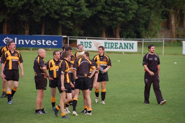 Flashback to my very first rugby game in Ireland where I met Joe.