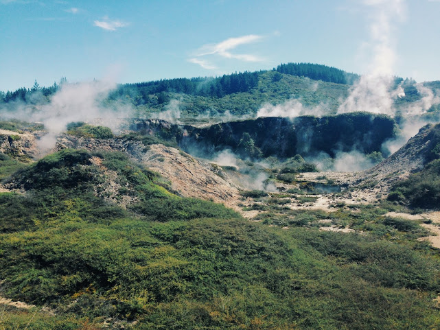 Geothermal hot springs
