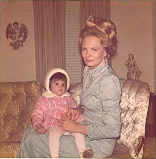 Me and my grandmother, San Antonio, Texas