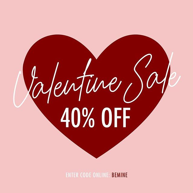 ❤️Because we are romantics at heart, to celebrate love and Valentine's Day, take 40% off everything online, enter code BEMINE. . . . . . . . . . , . . . . . . . . . . , . . . . . . . #thisisnoordinarylove #valentine #love #myfunnyvalentine #romance #loungewear #sale #resortwear #silk #tshirts #lowla #valentinesday #pjs