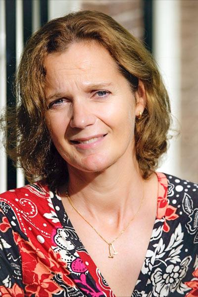 Schrijfster Kristina Groenhart © Erik van 't Woud