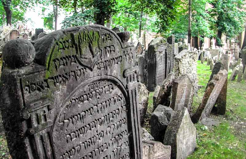 Oude joodse begraafplaats ©  @drbronk