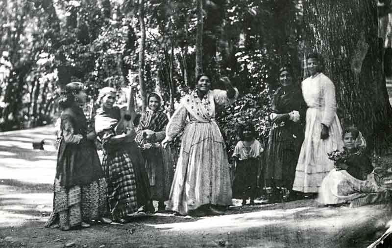 Gitano's in de tijd vanFederico Garcia Lorca