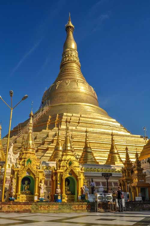 Gouden Shwedagon pagode© Wilke Martens