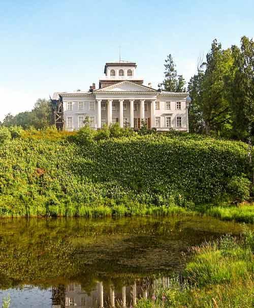 Het landgoed van Nabokov, Rozhdestveno,nabijSint-Petersburg