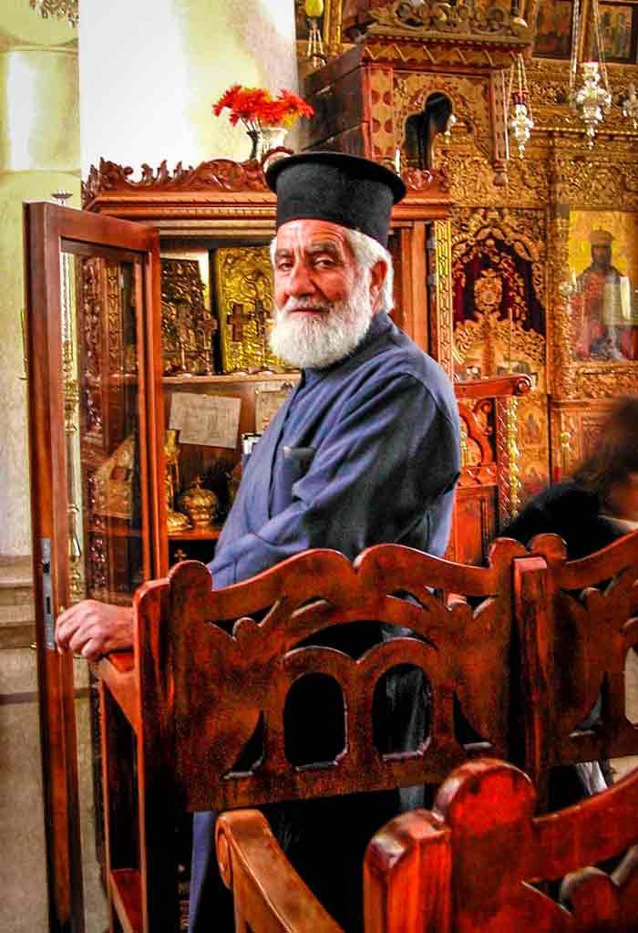 Kloostervader Costantinos Xenofontos ©  @drbronk