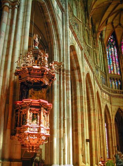 Kansel St. Vitus kathedraal ©  @drbronk