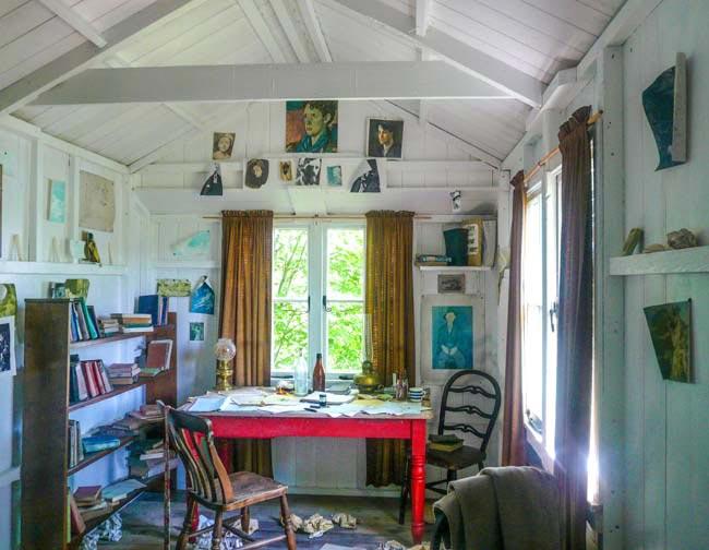 Writing shed van Thomas Dylan© Linda Korsten