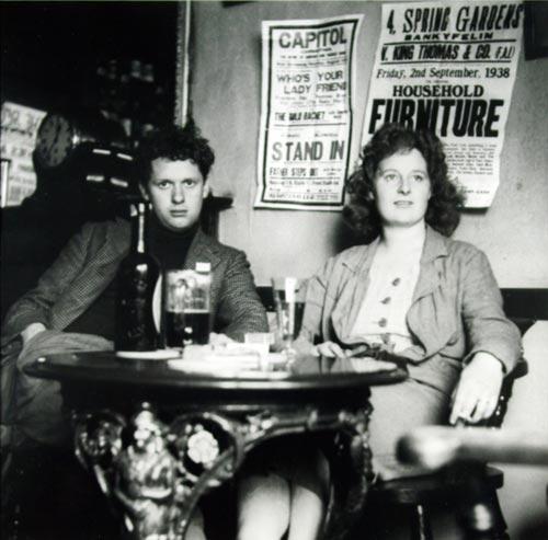 De nationale dichter van Wales en zijn vrouw Caitlin ©Dylan Thomas Centre