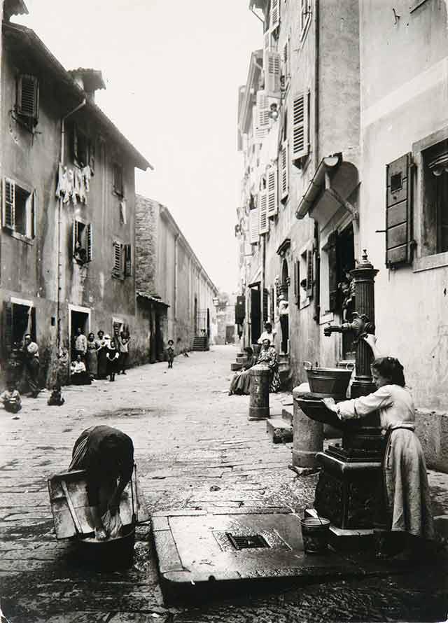 De rosse buurt rond de Via di Cavana