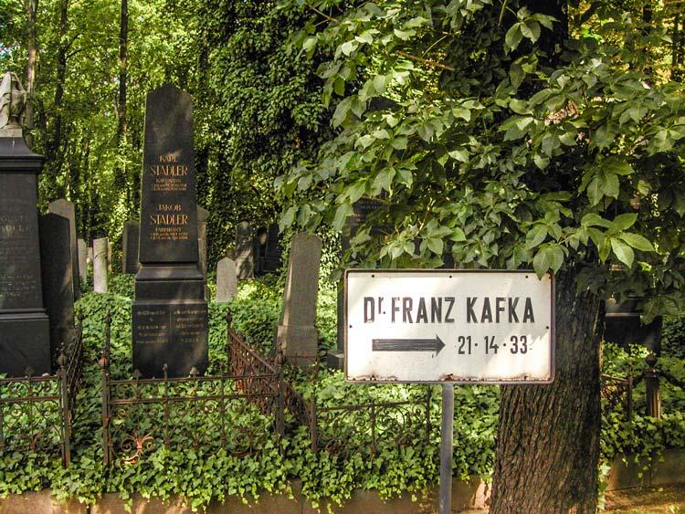 Naar Kafka's graf © drbronk