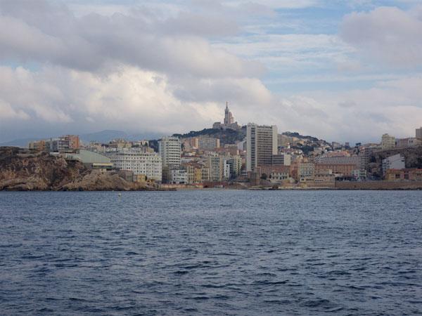 De Kolonie van de Catalanen is tegenwoordig volgebouwd met hoogbouw.