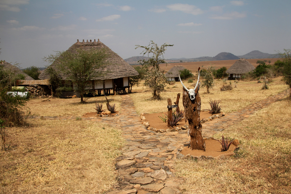 Safari lodge, Uganda