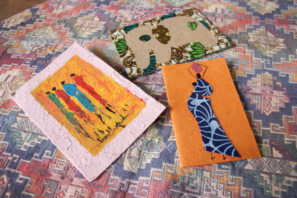 Africa-style cards