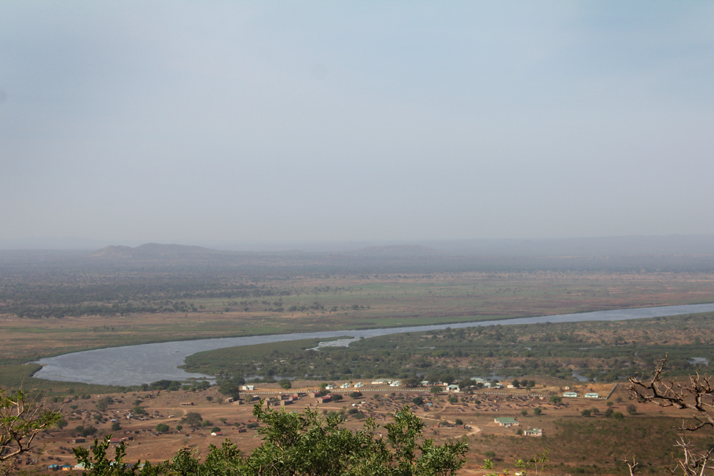The Nile River, running closely to the school