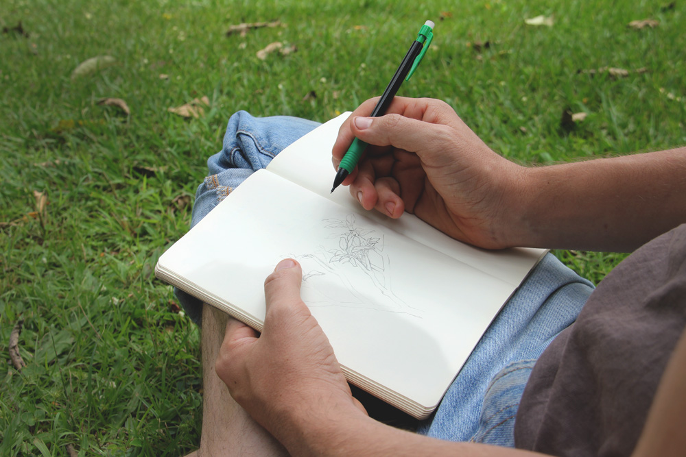 Eric drawing