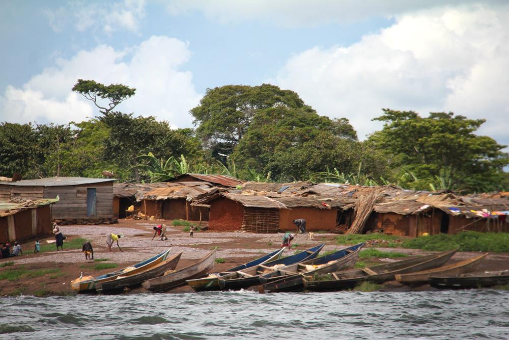 Lake Victoria fishing village
