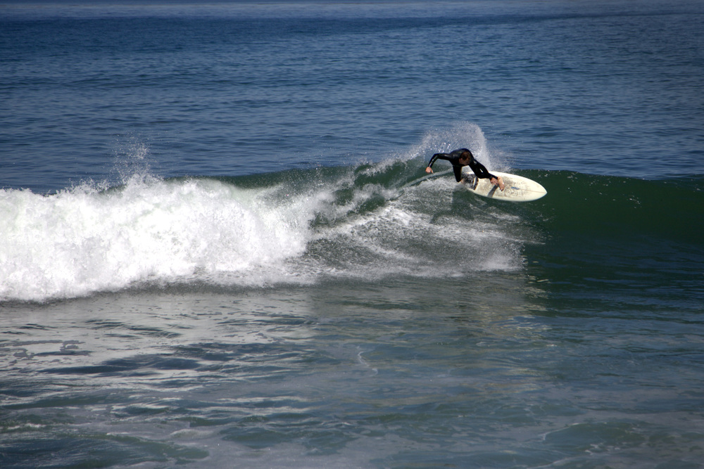 A local surfer