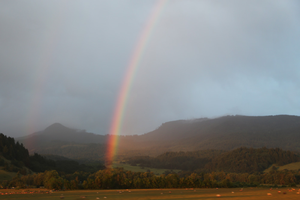 Oregon [double] rainbow
