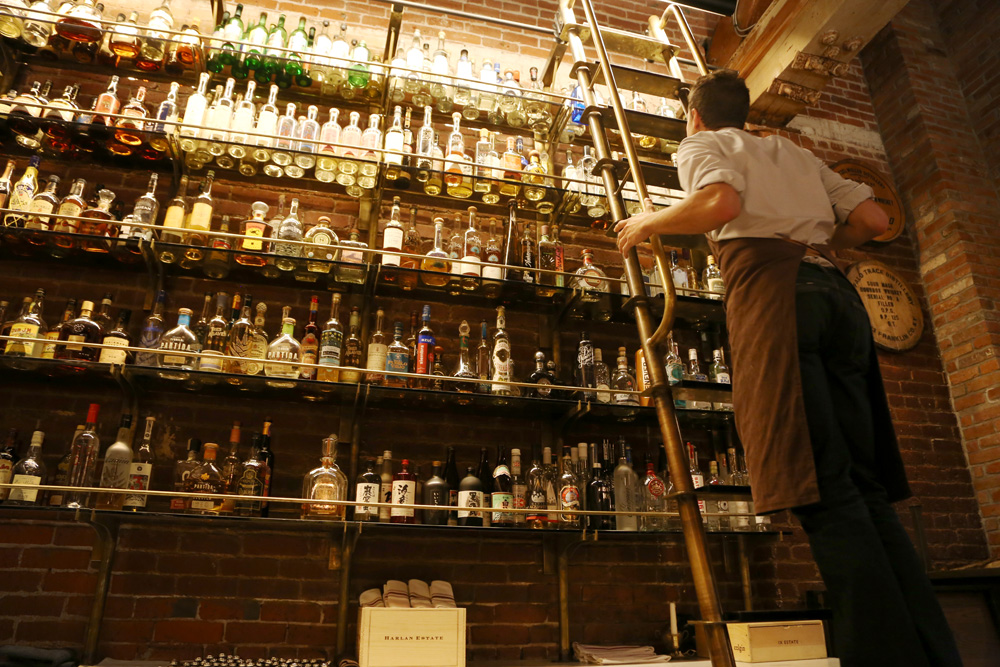 The whiskey library