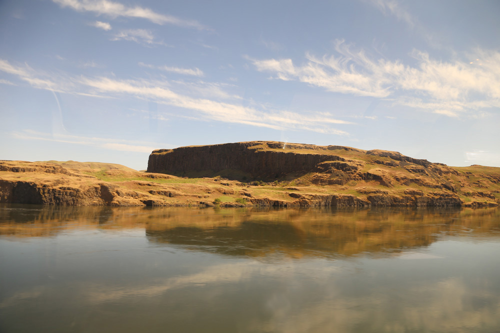 Columbia River in eastern Washington