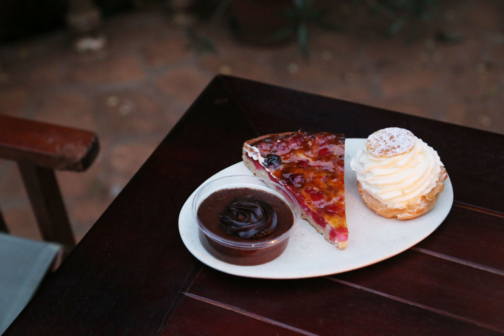 Desserts from La Patisserie