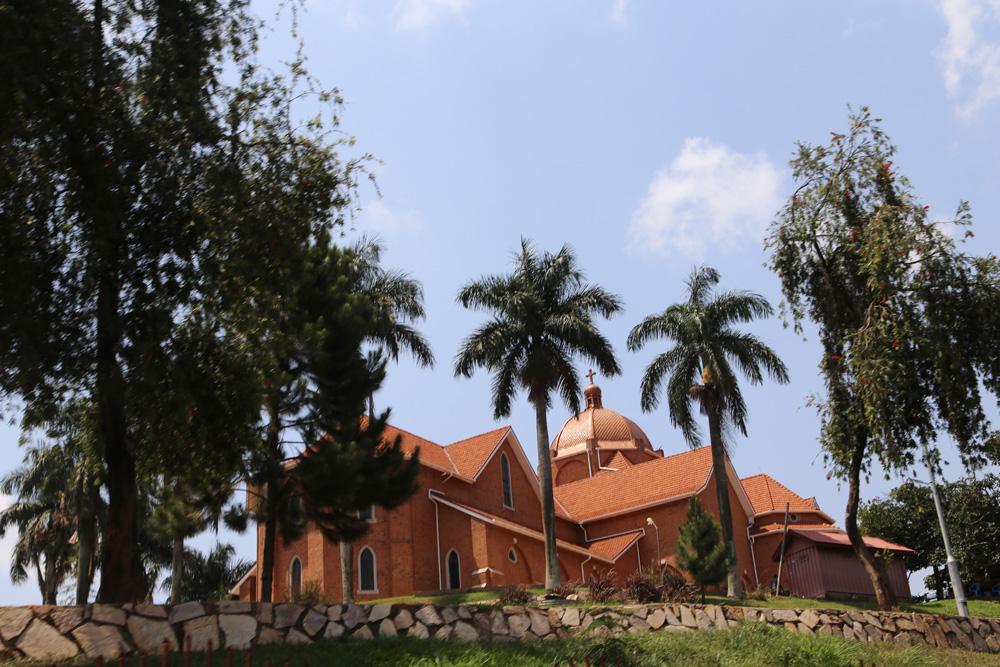 Namirembe Cathedral - the oldest in Uganda. Built in 1980.
