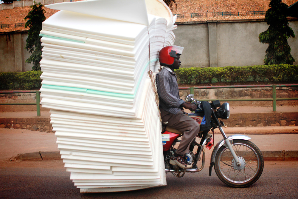 foam load on a boda