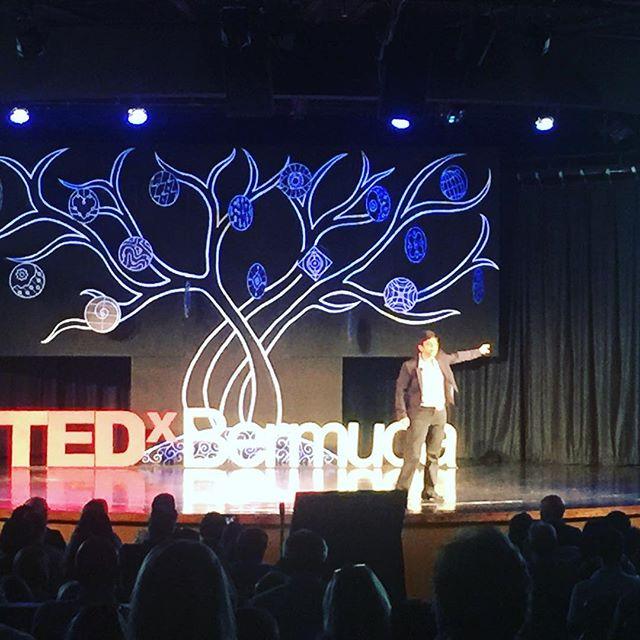 PRADIPTA!! #tedxbermuda #tedx #bermuda