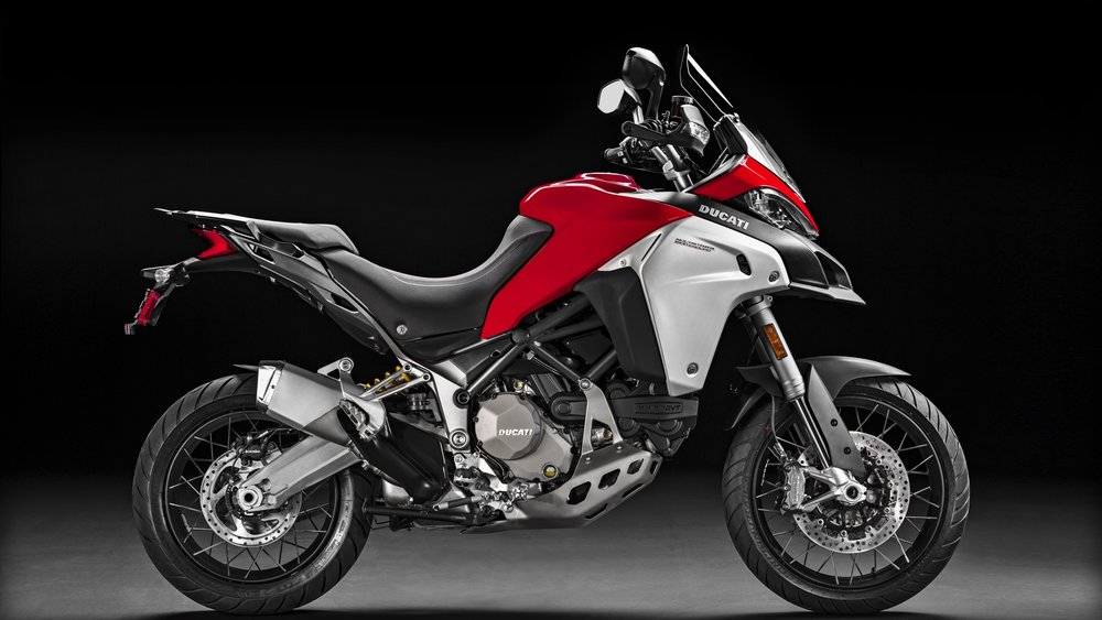 MULTISTRADA 1200 ENDURO DUCATI RED