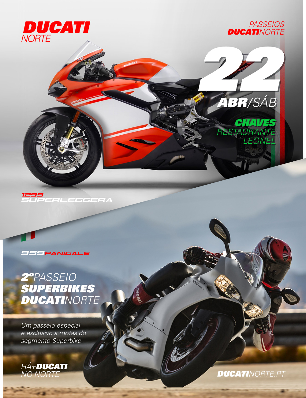 Preview - 2º  Passeio Superbikes - Chaves  / Abril 2017
