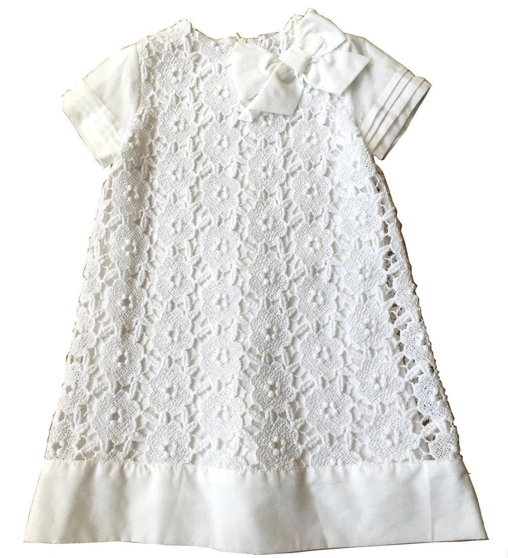 LC68 – COTTON LACE ALINE DRESS