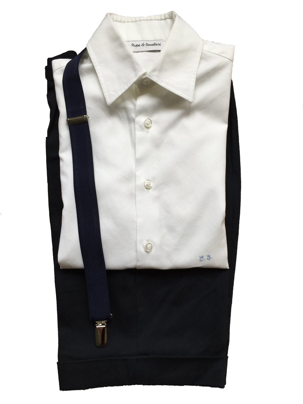 LC72-TAILORED NAVY BERMUDA –BOY