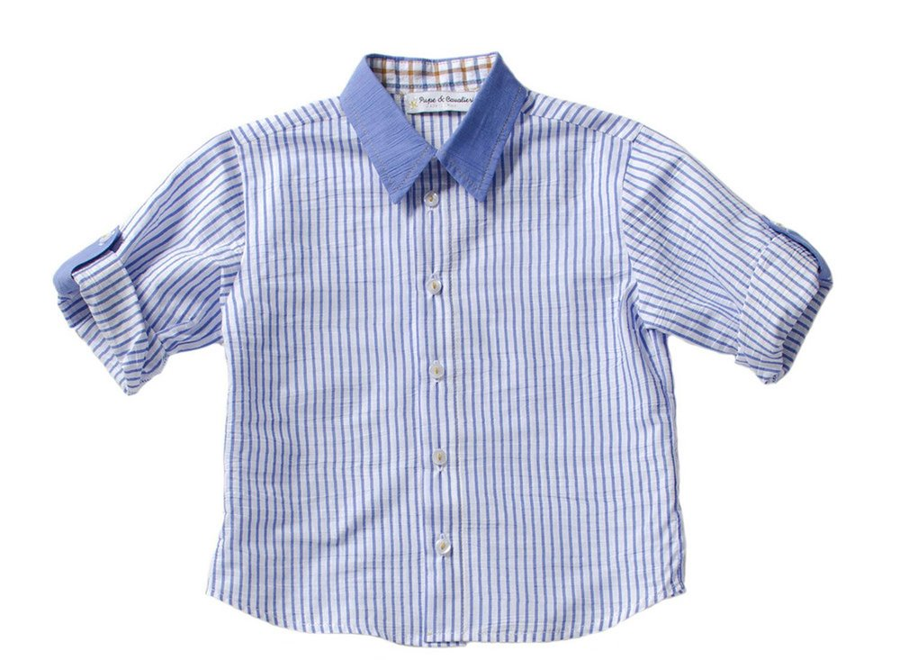 LC74- STRIPED COTTON SHIRT