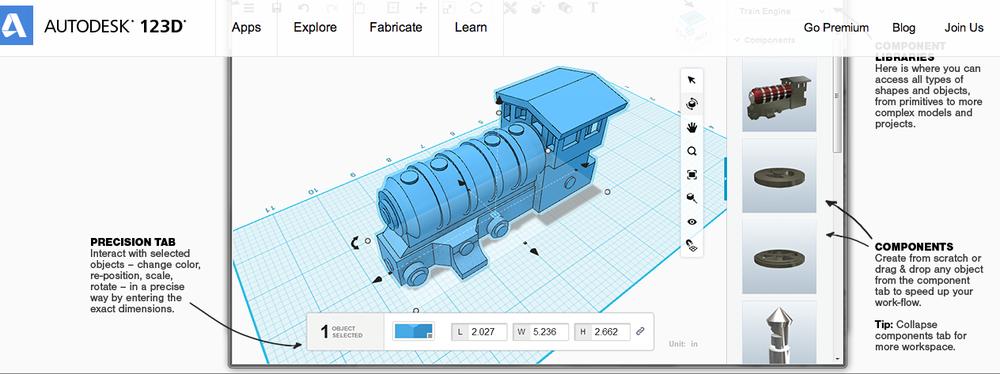 123D design   Autodeskの本気② ツボとか皿じゃなくて自分がつくりたいものは別にあるんだよ!でもCAD使えないしな〜、という人にとっては大朗報。自分でオブジェクトを切り貼りしながら3Dデータを作れる神アプリ。これも無料すか。どんだけ。