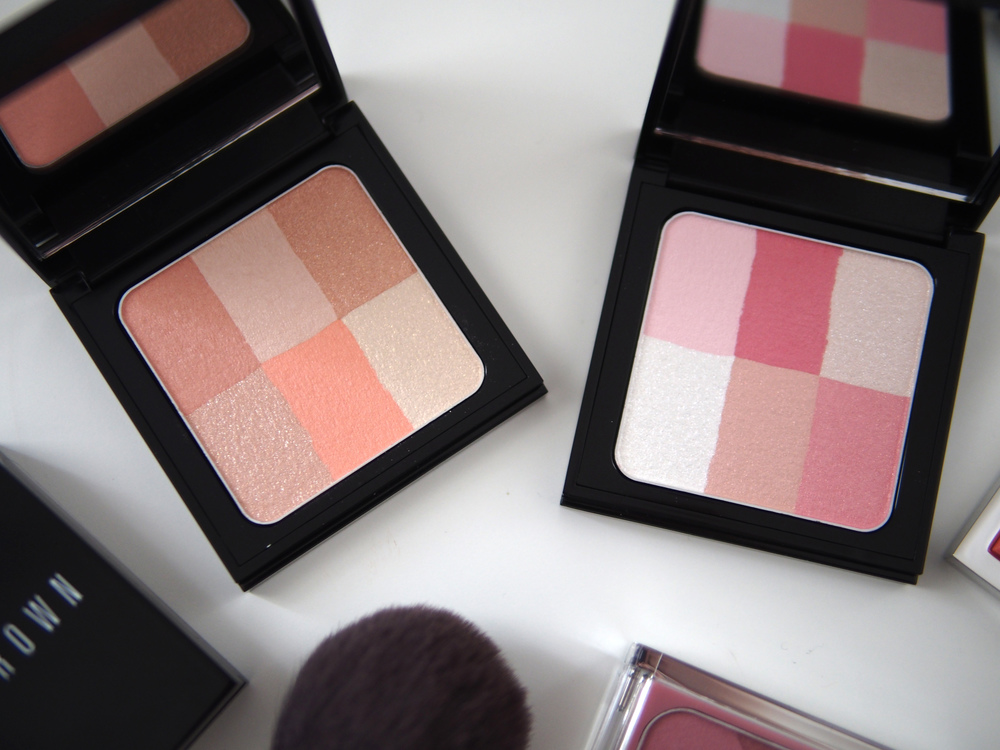 Pastel Peach and Pastel Pink Brightening Blush