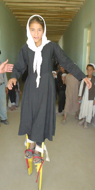 Afghanistan Stilt Workshop