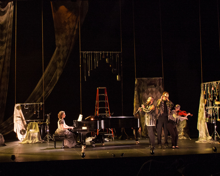 eighth blackbird, October 25, 2014 - World Premiere: Colombine's Paradise Theatre