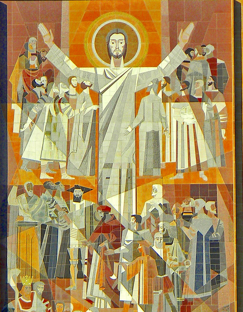 Sheets, Millard, 1907-1989. Word of Life mural, from Art in the Christian Traditiona project of the Vanderbilt Divinity Library, Nashville, TN.