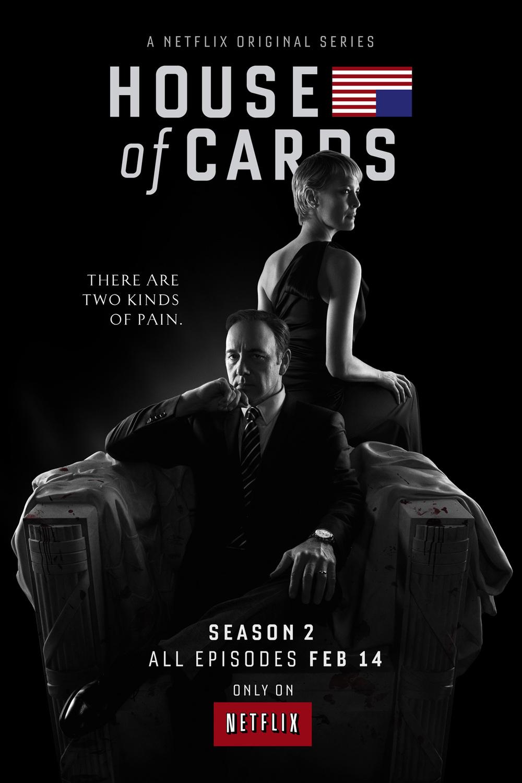 House of Cards Season 2 began again on February 14, 2014