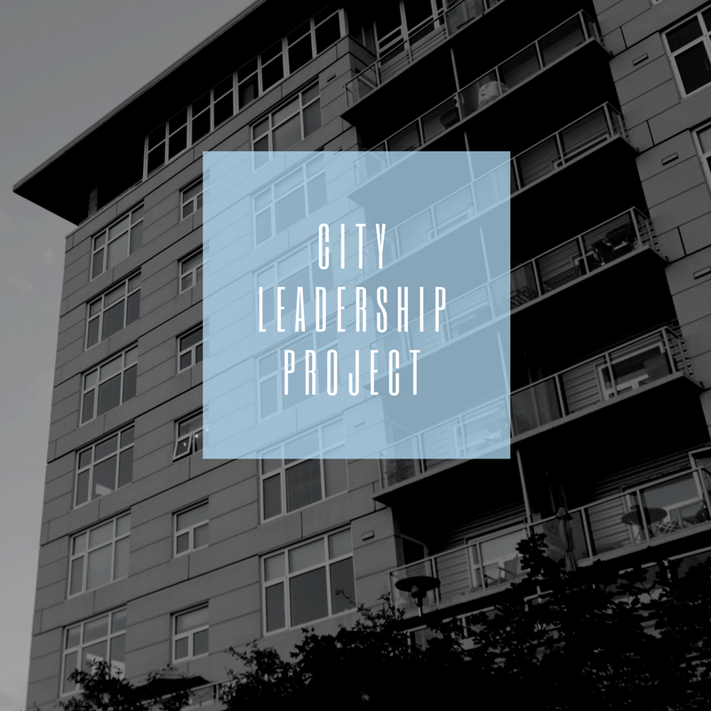 City Leadership Project 2018                                           May 20 - June 30                                                          Augusta, GA